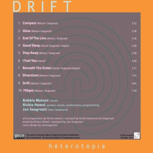 Drift Heterotopia back cover