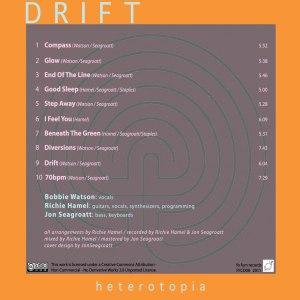Drift Heterotopia back cover