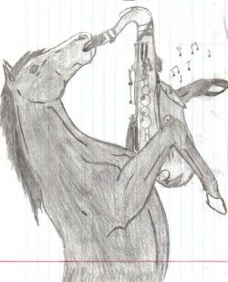 horse sax